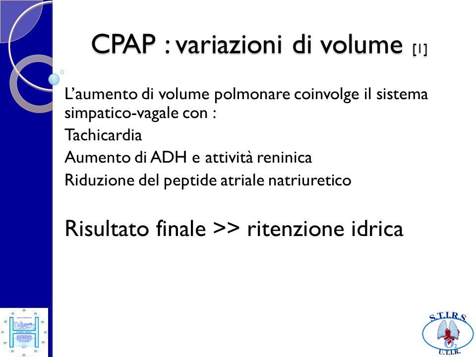 CPAP : variazioni di volume [1]